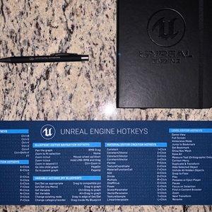 Unreal Engine Maker of Fortnite Journal + Hot Keys